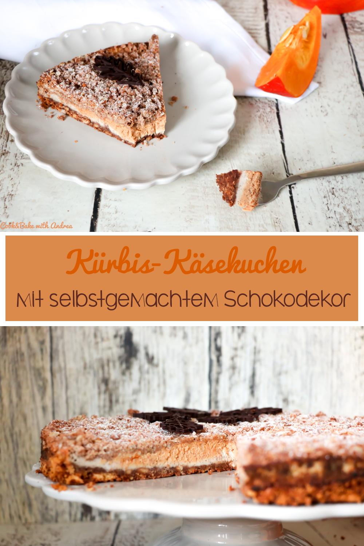 Der Herbst ist da und damit auch die Kürbiszeit und ich läute ich ihn kulinarisch mit einem süßen Kürbis-Käsekuchen mit Zimtstreuseln ein. Das herbstliche einfache Rezept findet ihr auf dem Foodblog von Cook and Bake with Andrea.